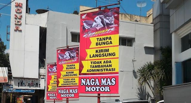Promo Kredit Tanpa Bunga CB150R Nagamas Motor Klaten