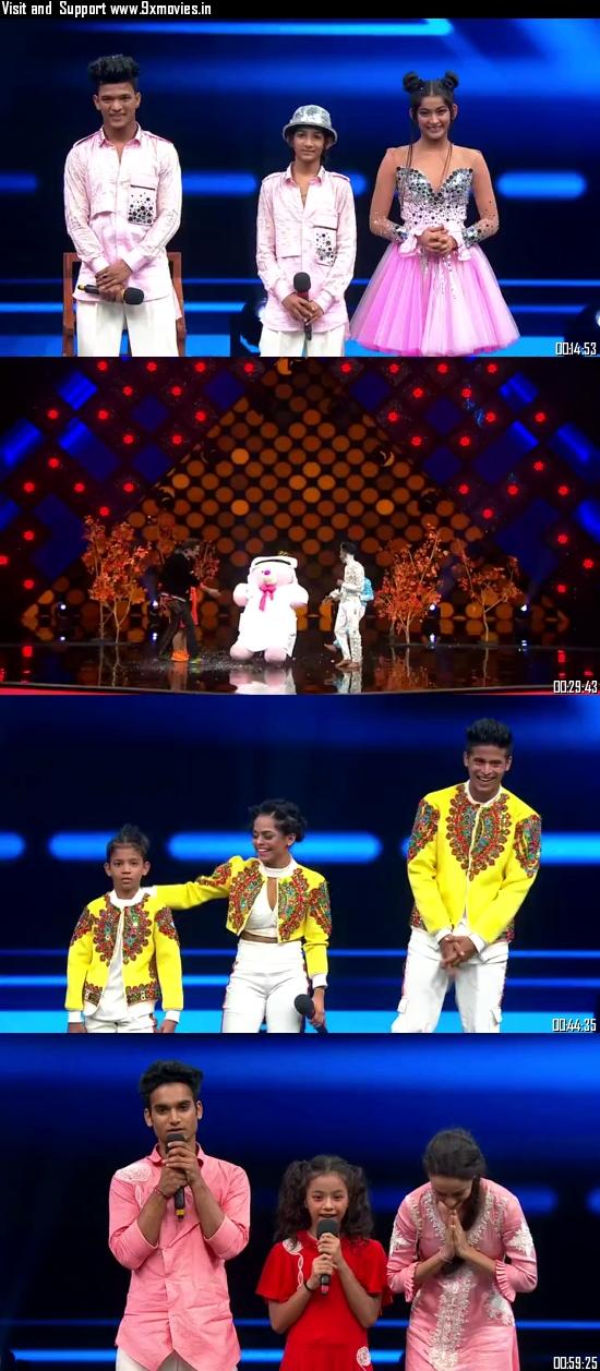 Indias Best Dancer 04 October 2020 HDTV 480p 350MB