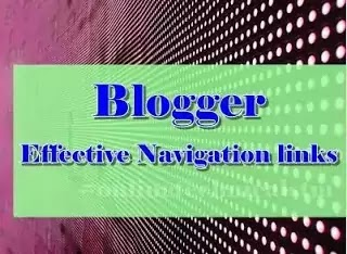 How To Add Post Under Pages In Blogger| Most Effective Navigation links 2020