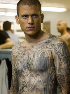 Wentworth Miller Prison+Break+tatuado