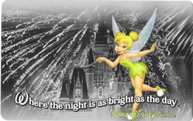 Where the Night is as Bright as the Day Walt Disney World Ticket