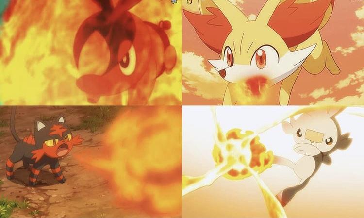 Best Fire Type Starters Pokemon Designs