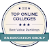 Top 10 online colleges of 2018: Best value ranking