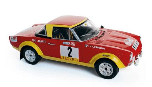 WRC collection 1:24 salvat españa, Fiat 124 Abarth Spider 1:24