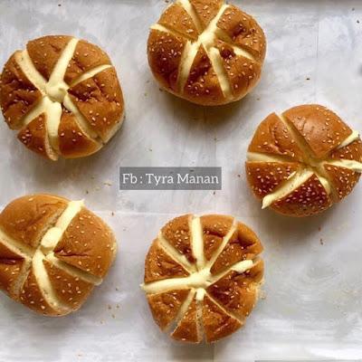 Resepi Mudah Korean Garlic Cheese Bread Dengan Bun Burger!