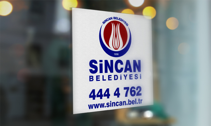 Ankara Sincan Belediyesi Vektörel Logosu