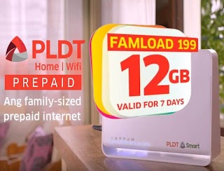 PLDT Famload 199 – 12GB of Data Valid up to 7 Days for only 199 Pesos