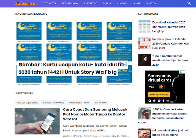 download template blogger terbaik