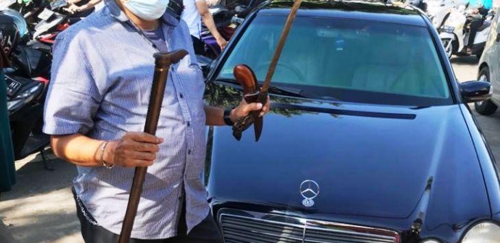 Ini Alasan Polisi Tak Menahan Sopir Pengacara Habib Rizieq yang Ditangkap Usai Bawa Sajam