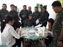 Deteksi Penggunaan Narkoba Bagi Personel Kodim 1310/Bitung