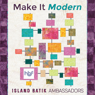 Make It Modern with Island Batik and Hobbs Batting