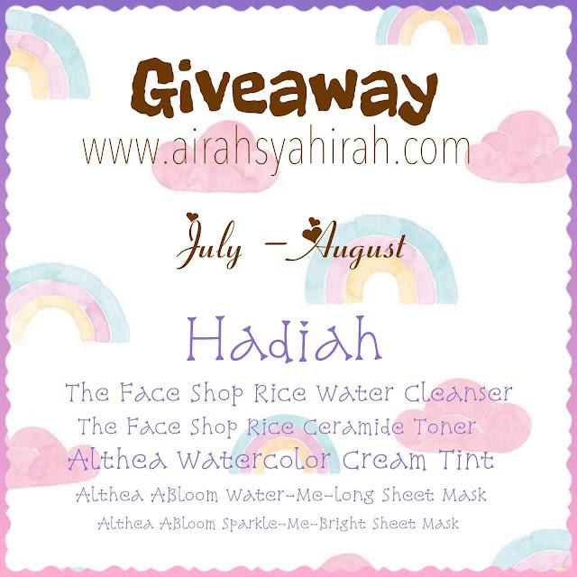 http://www.airahsyahirah.com/2019/06/skin-care-giveaway-by-airah-syahirah.html