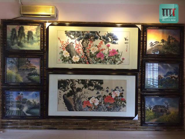 phong tranh cua hoa si hoang van giang