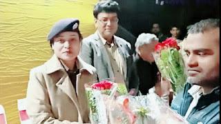 बाढ़ एएसपी लिपि सिंह विदाई समारोह