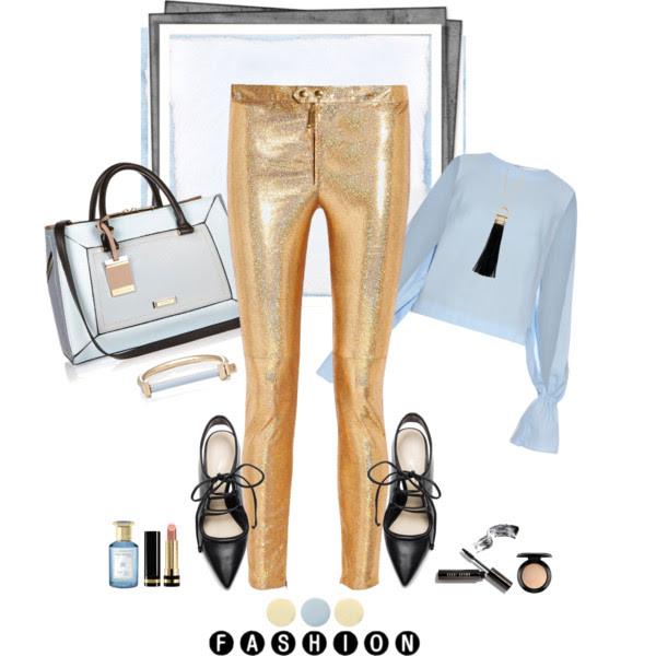 HURÁ DO ZLATEJ_Katharine-fashion is beautiful_Ako nosiť zlatú_Katarína Jakubčová_Fashion blogger