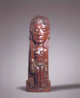 Paul Gauguin - Thérèse,circa 1902-1903.