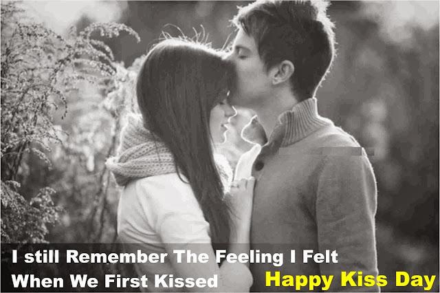 happy kiss day hot