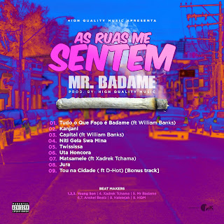 Mr Badame - As Ruas Me Sentem (Ep)