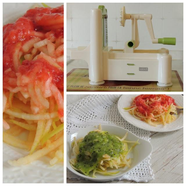 veg spaghetti di frutta