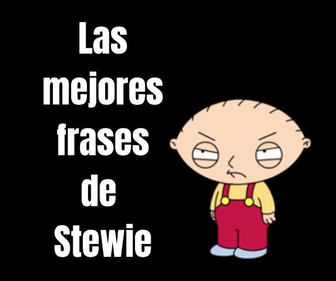Las mejores Frases Stewie Griffin, Padre de Famila