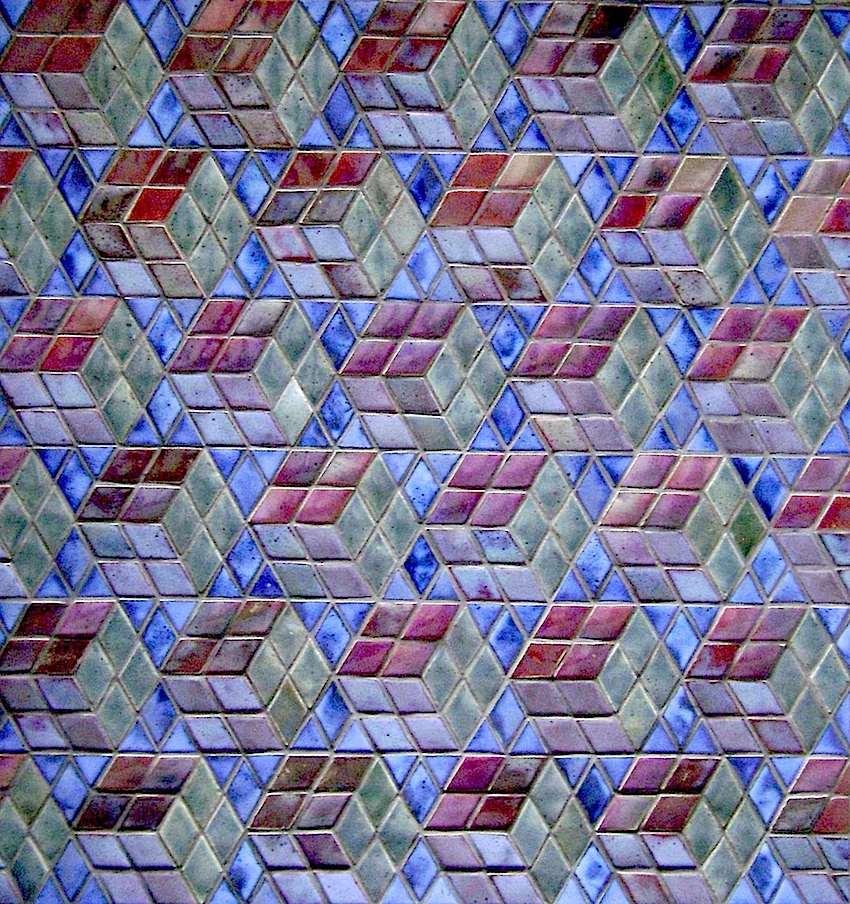 Rupert Spira mosaic 1990s