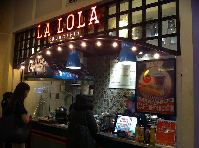 Churreria La Lola Powerplant Mall Makati