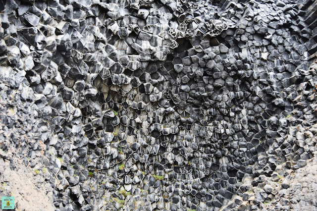 Formaciones de basalto en Hljódaklettar en Vesturdalur, Islandia