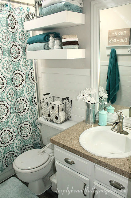simply beautiful by angela bathroom makeover on a budget 99 small master bathroom makeover ideas on a budget 49