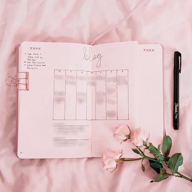 Bullet Journaling for Bloggers