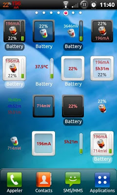 3C Battery Monitor Widget Pro النسخة الكاملة