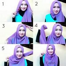 Hijab untuk Wajah Bulat Anda
