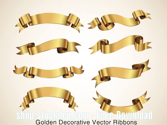 Vector dây ruy băng -Vector Ruy Băng Cổ Điển Miễn Phí