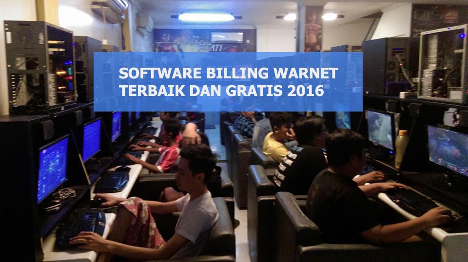 Software Billing Warnet Gratis dan Terbaik 2016
