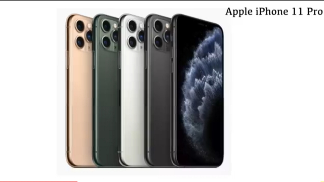 Apple iPhone 11, Apple iPhone 11 Pro, Apple iPhone 11 Pro Max launch price specification