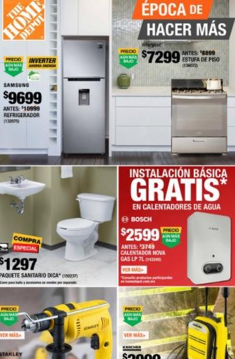 Home Depot catalogo baños  | ofertas Marzo 2021