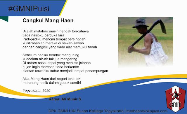 Mang Haen: Sebuah Puisi