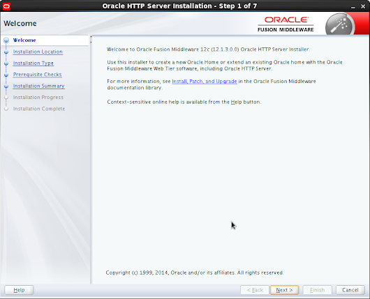 Oracle HTTP Server 12.1.3 Installation & Configuration