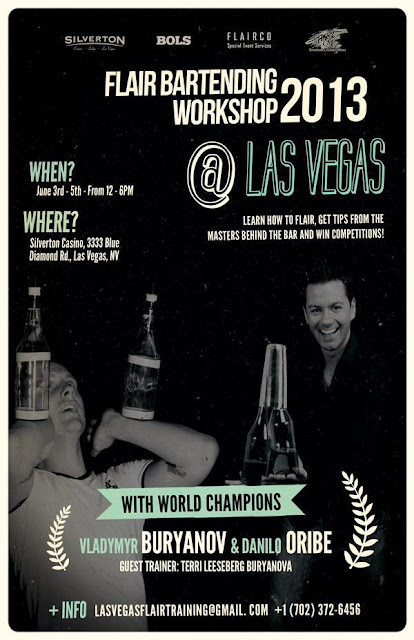 Flair Bartending Workshop 2013 Las Vegas