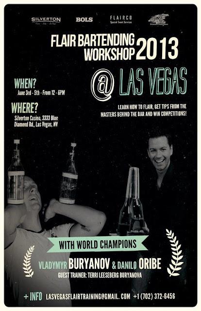 Flair Bartending Workshop 2013 Las Vegas