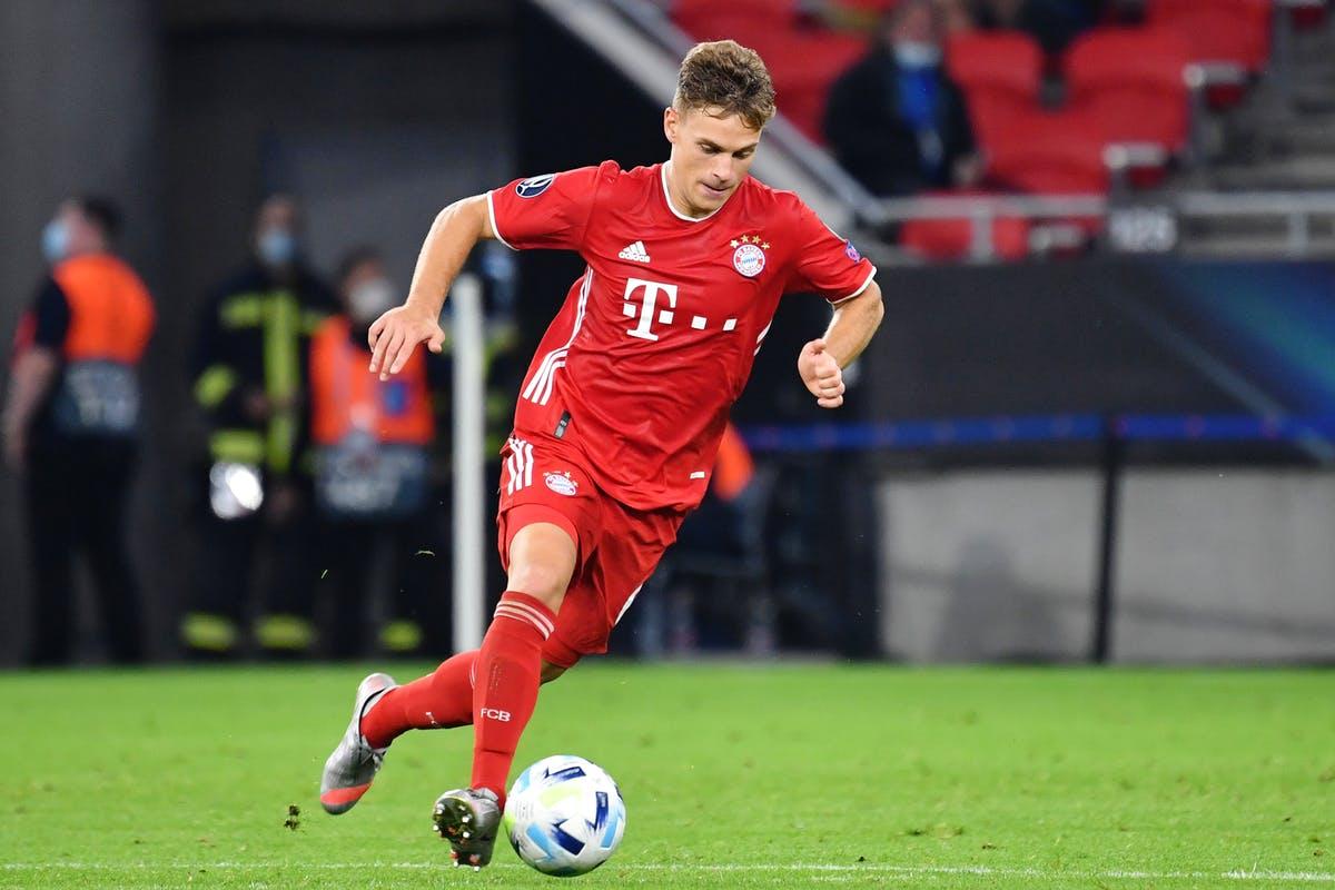 Bayern Munich's Joshua Kimmich