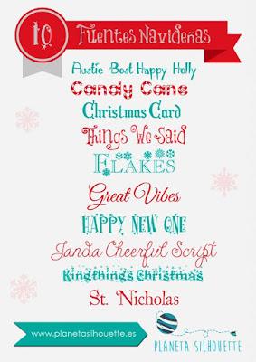 descargar, fuentes, navidad. dignbat, font