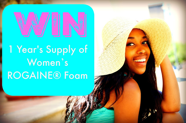 How To Stop The Aging Process | Win 1 Year's Supply of Women's ROGAINE® Foam