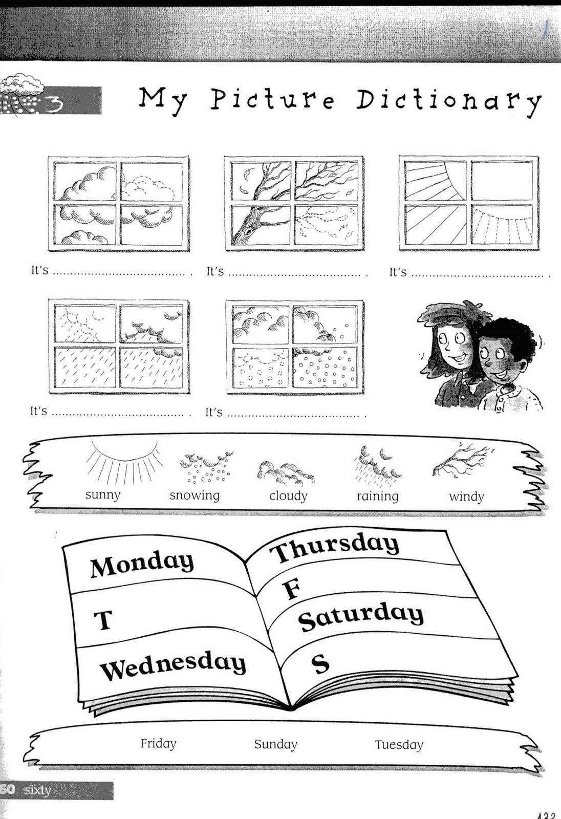 Mundo Infantilandia Days Of The Week