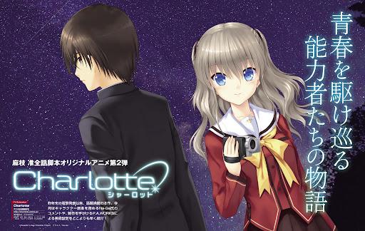 Charlotte Season 1 + OVA Dual Audio [Japanese-English] 720p & 1080p HD BluRay | 10bit HEVC ESub