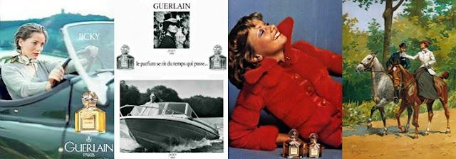 Guerlain Jicky ads campaign
