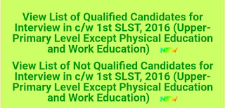 West Bengal Ssc upper primary merit list 2021