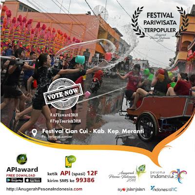 Festival Pariwisata Terpopuler Cian Cui Meranti Riau