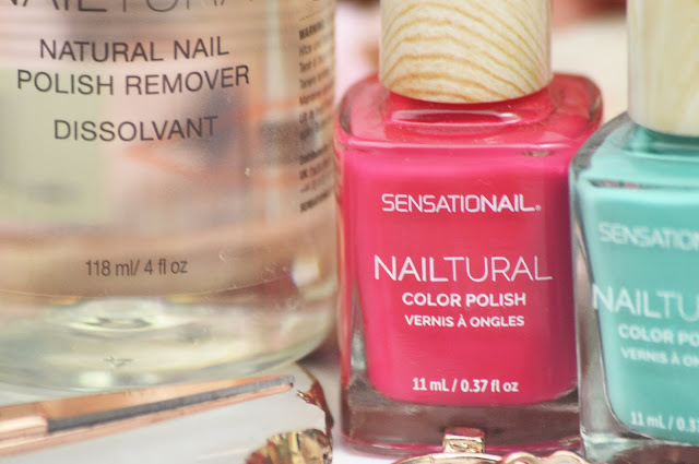SensatioNail's Nailtural Colour Polishes & Natural Remover Review, Lovelaughslipstick Blog