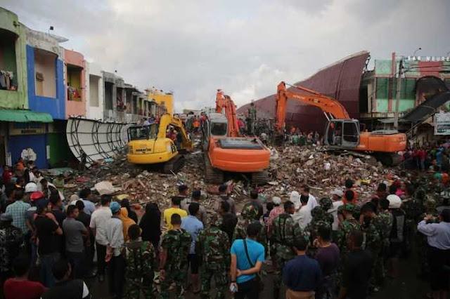 Korban Meninggal Dunia Gempa Aceh Makin Bertambah Saat ini 92 Orang