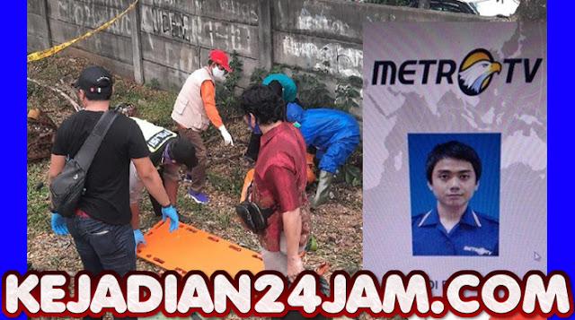 Polisi Menduga Editor Metro TV Dianiaya Sebelum Tewas